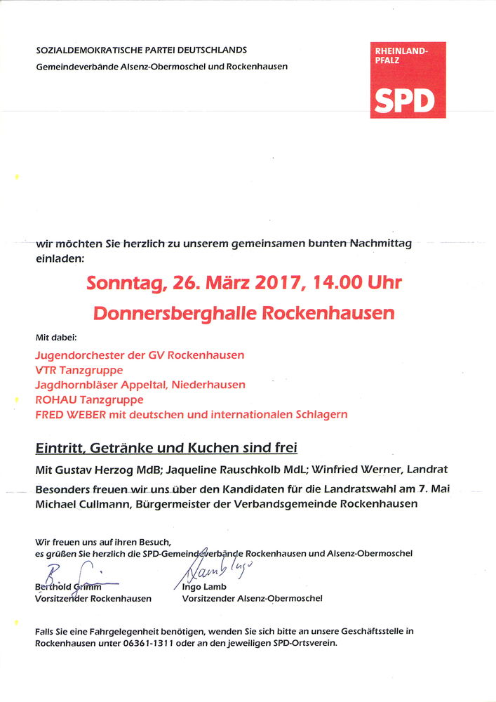 Startseite - SPD Kirchheimbolanden